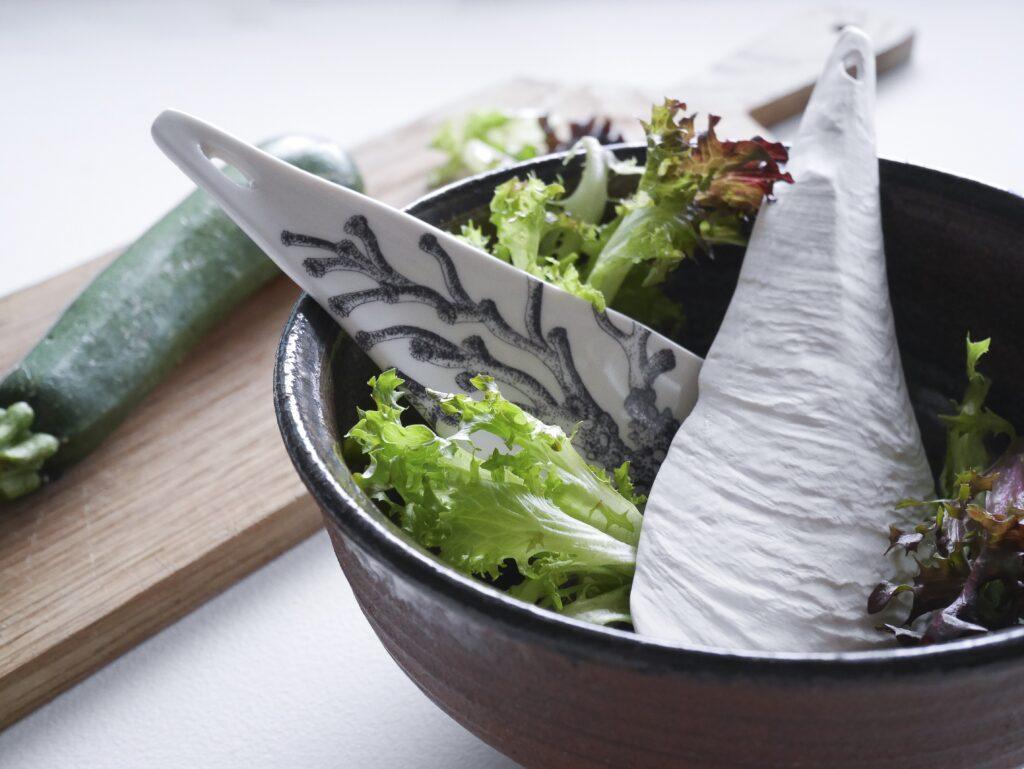 ocean porcelain salad spoons Jam Factory Australia Adelaide Anne-Sophie Guerinaud