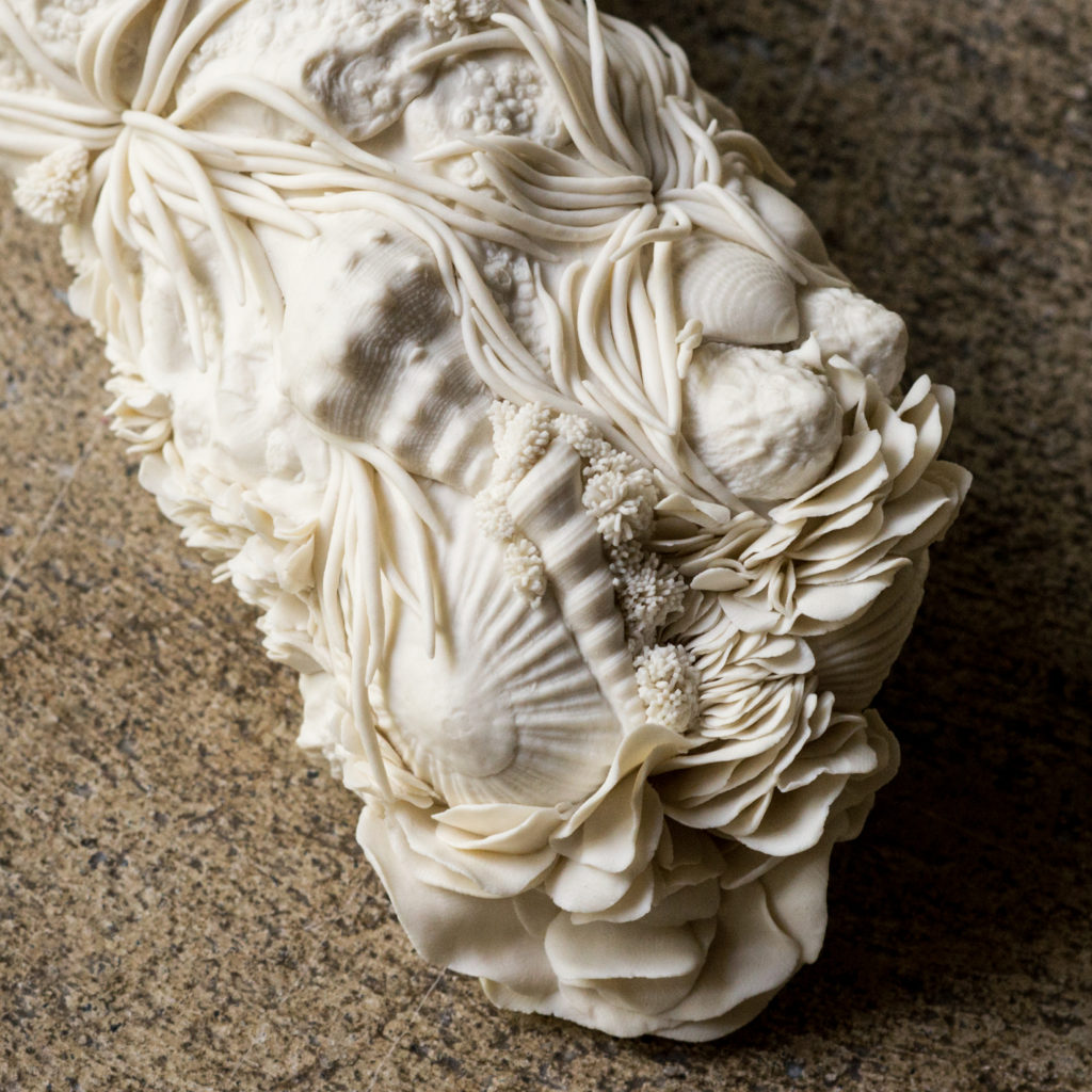 modeling clay details porcelain Anne-Sophie Guerinaud Bruckner Foundation
